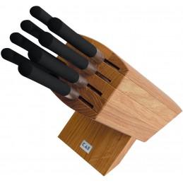 Kai 6799 Porte-couteaux Wasabi avec 8 couteaux -