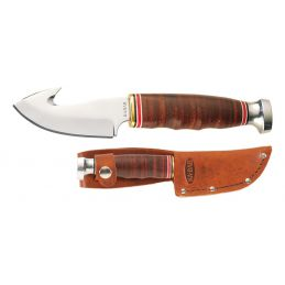 Ka-Bar 1234 Game Hook Manche et gaine en cuir