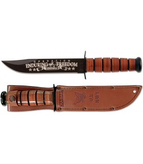 Ka-Bar 9170 Us Navy Operation Enduring Freedom Commemorative XX -