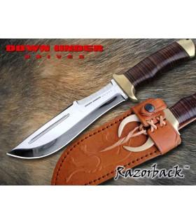 Down Under Knives 446018 Razorback Lame de 18 cm 440C -
