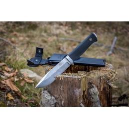 Couteau fixe Fällkniven FKS1PRO ( S1PRO )  Professional Survival Knife, Zytel Sheath -