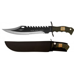 Couteau fixe United Cutlery UC2863 Marine Force Recon Sawback Bowie -