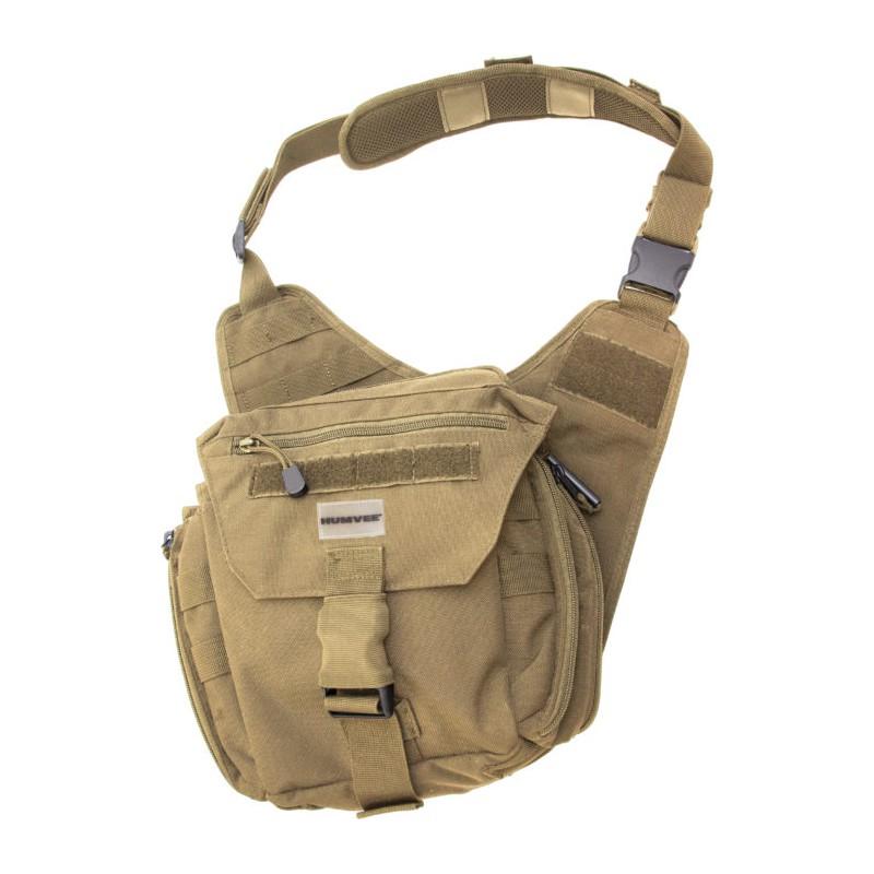 copy of Sac à bandouillère Humvee GB10TAN Shoulder Bag Tan Khaki -