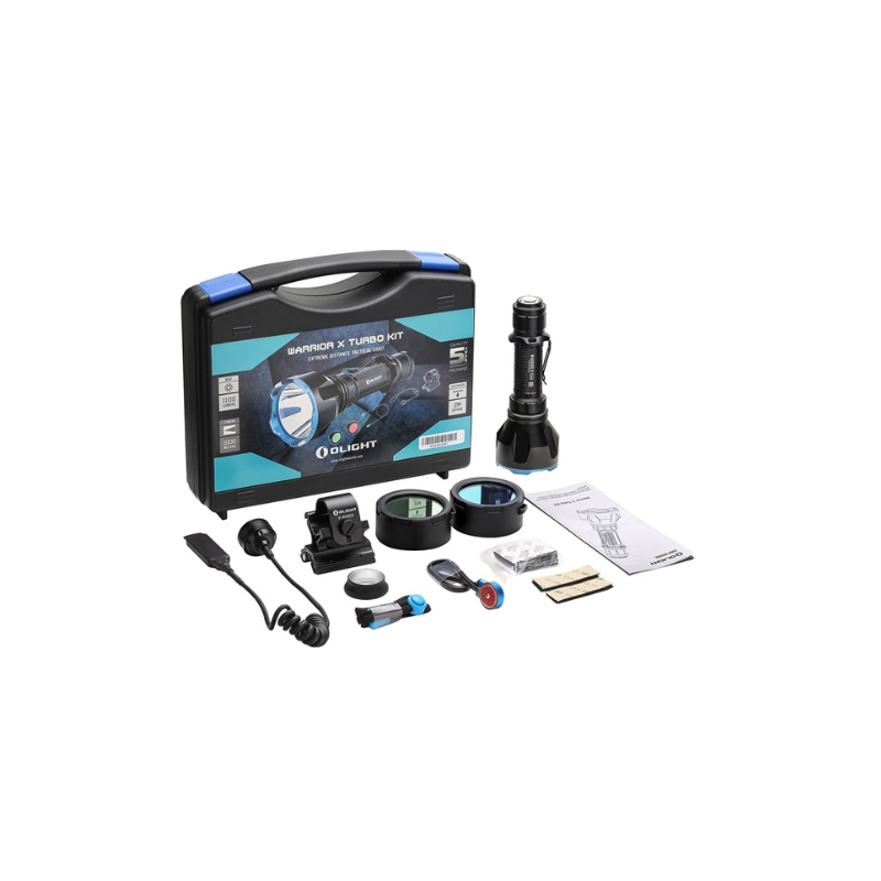 Olight Warrior X Turbo Noir Kit Torche Puissante -