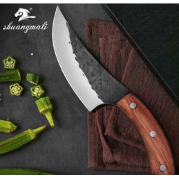 Très beau Couteau de chef forgé Slicing -