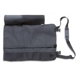 Dick 81077010 Trousse enroulable nylon noir , 12 pièces, vide -