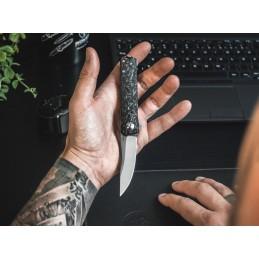 Boker 01BO231 Kwaiken Compact Flipper Marble Carbone -
