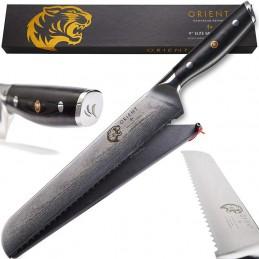 Orient Couteau à pain Damas Aus-10 20 cm -