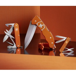 Victorinox 0.9415.L21 ( 09415L21 ) Hunter Pro Alox Edition limitée 2021 Tiger Orange -