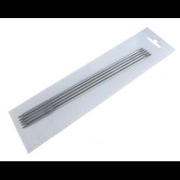Aiguille à brider droite en inox 150x3mm Fischer & Bargoin ( 5 Pièces ) -