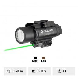 Lampe Led Olight Baldr Pro Black Laser vert OL PL-PRO-2GL / Olight Baldr Pro Black -