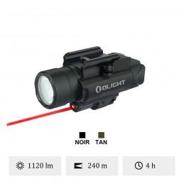 Olight Baldr rl Pour arme avec laser rouge -