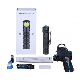 Olight Perun 2 - Lampe Frontale Puissante Rechargeable -