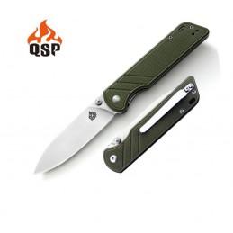 Couteau pliant QS102-B ( QS102B ) Vert Parrot -
