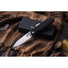 Couteau pliant QS102-A ( QS102A ) Noir -