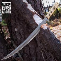 United Cutlery UC3272 Black Ronin Tan Combat Wakizashi -