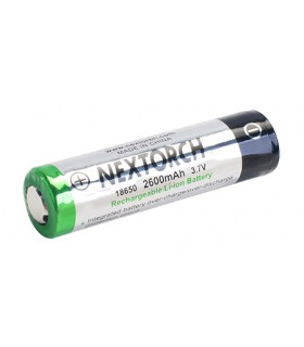 Nextorch 18650 Recjargeable LI-ION Batterie -