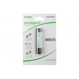 Nextorch 18650 Rechargeable LI-ION Batterie 2600mAh 3,7V -