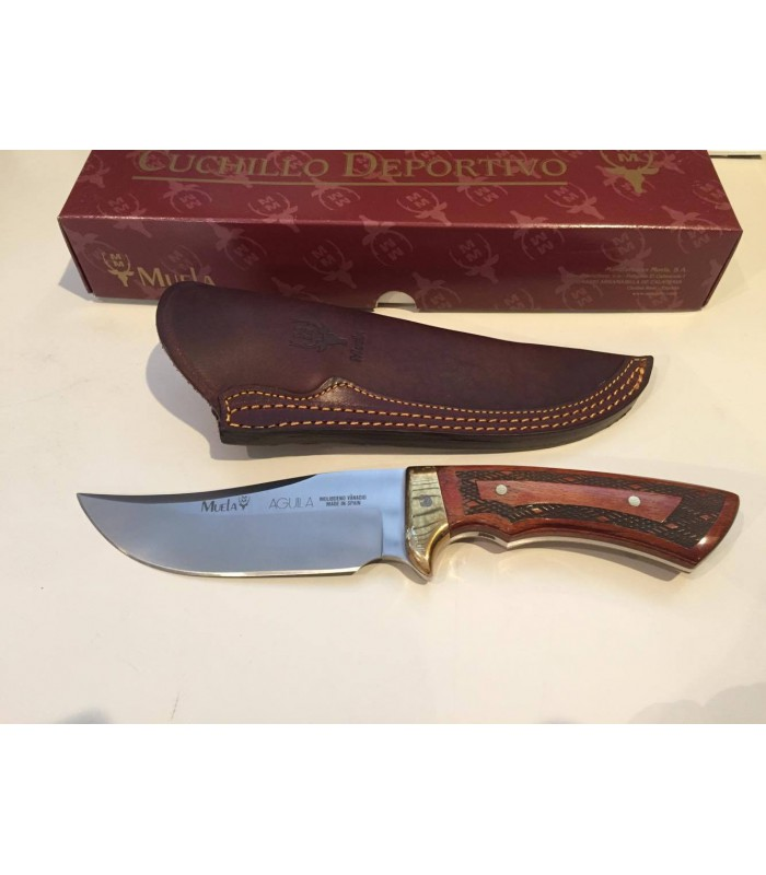 Couteau de chasse Muela Aguila Lame de 14 cm -