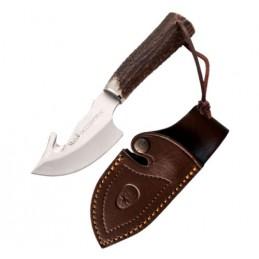 Muela Raccoon Couteau de chasse a éviscérer lame de 9,5 cm -