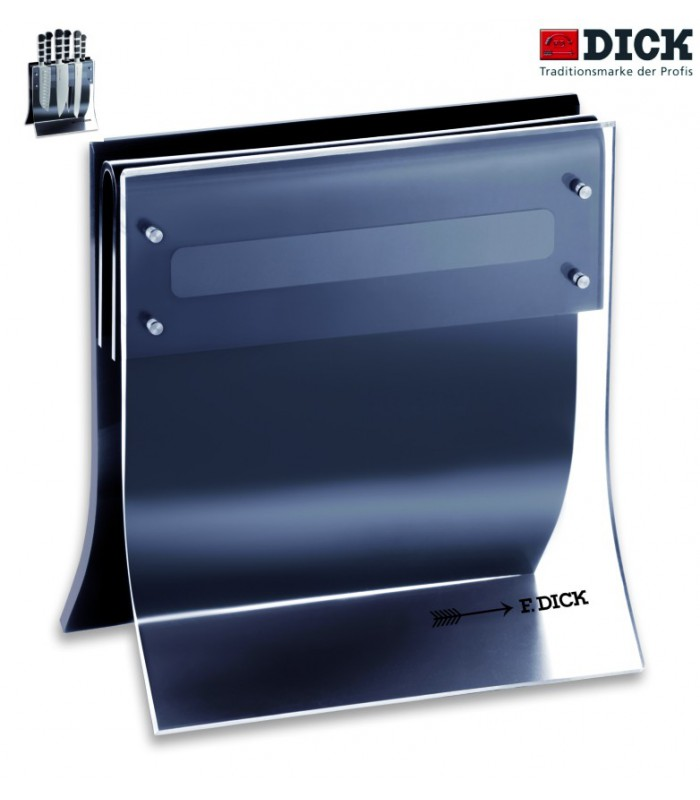 Bloc pour 4 couteaux Dick + aimant 8804001 -