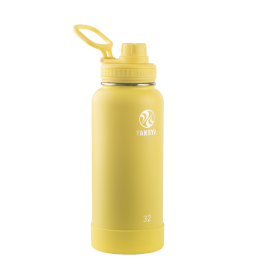 Takeya Actives Bouteille isotherme 32oz/950ml Canary 51175 -