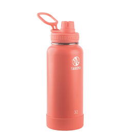 Takeya Actives Bouteille isotherme 32oz/950ml Coral 51176 -