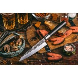 Samura Série BlackSmith Couteau universel Damas SBL-0023 ( SBL0023 ) Lame de 16,2 cm -