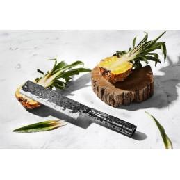 Samura Série Meteora Couteau Nakiri Damas SMT-0043 ( SMT00-43 ) Lame de 17,3 cm -