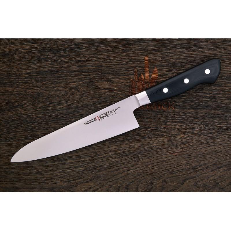 Samura PRO-S SP-0085 Couteau de chef lame de 20 cm AUS-8 -