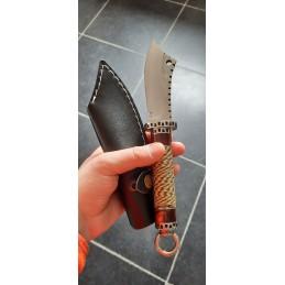 Shuangmali Superbe Couteau de survie -
