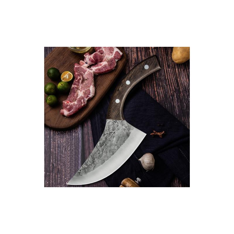 Shuangmali Couteau de cuisine Slicer Forgé à désosser -