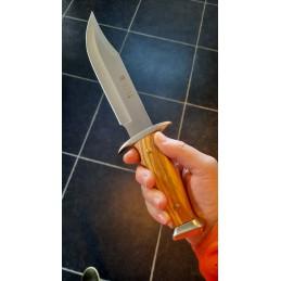 Joker CO92 Couteau de chasse bois d'olive -