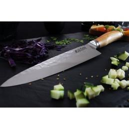 Couteau Japonais Chef Wusaki 8002 Lame de 20 cm Damas -