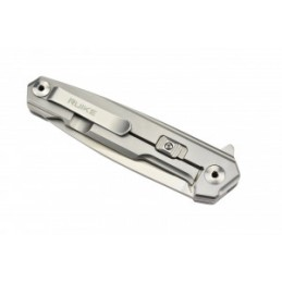 Ruike P875-SZ Couteau de poche en acier 14C28N et fibre de carbone -