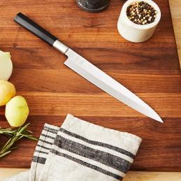 Kai 6721Y Wasabi Black Couteau à sushi Yanagiba lame de 21 cm -