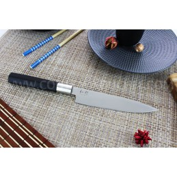 Kai 6715U Wasabi Black Couteau japonais universel Lame de 15 cm -