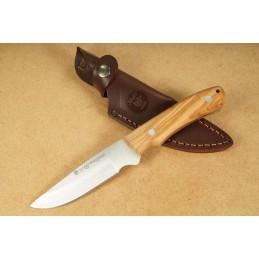 Nieto Couteau de chasse en bois d'Olive naturel -