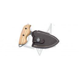 Fox 1506 OL Push Dagger en bois d'Olive -