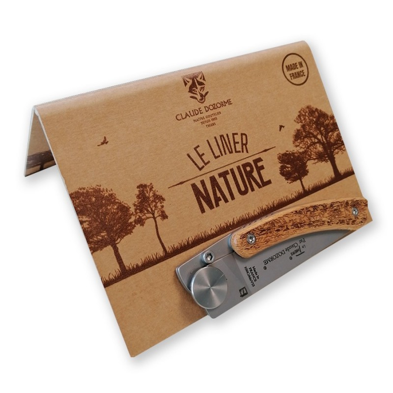 Claude Dozorme Le Thiers Liner Lock nature feuillage -