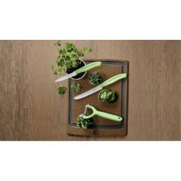 Set de couteaux d'office avec éplucheur à tomates et kiwis Swiss Classic Trend Colors, 3 pièces -