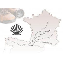 Claude Dozorme 1.94140.63 ( 19414063 ) Chemin de Compostelle Manche en corne blonde : Made in France -