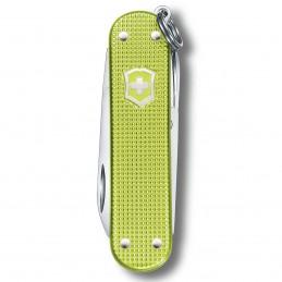 Victorinox Classic Alox Colors 58 mm Lime Twist -