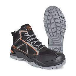 Chaussure de sécurité Pezzol Santos Hight Black Goretex S3 WR SRC -