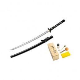 Boker 05ZS580 Red Samurai Damas Manche en peau de raie -