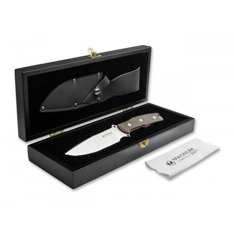 Boker magnum 02MAG2021 Couteau fixe de collection Edition limitée Dans une boite de Collection 2021 -