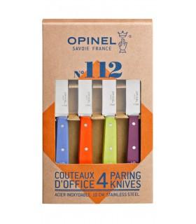 Opinel N°112 Coffret de 4 couteaux éplucheurs -
