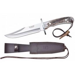 Joker CC96 Couteau de chasse en bois de cerf -