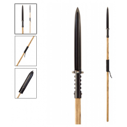 Condor 61350 Asmat Dagger Spear , lance de chasse -