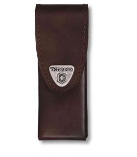 Victorinox 40822L1 Etui cuir brun avec clip pivotant -